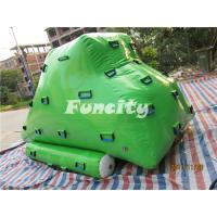 Wholesale 0.9MM Thickness PVC Tarpaulin Various Color Inflatable Rock Slider for Used in Water Park from china suppliers