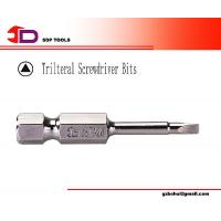 "Wholesale 1/4"" Industrial Trilteral Hand Tool S2 Steel Screwdriver Bit from china suppliers"