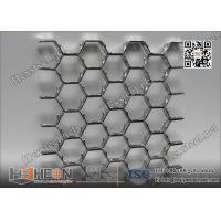 "Wholesale AISI316 Hex Metal with lance | 1"" depthX14 gauge 