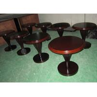 Wholesale Warm Rosewood Finished Elegant Leg Modern Wood Coffee Table For Meeting Center from china suppliers
