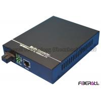 Wholesale 100KM WDM Gigabit Ethernet Fiber Media Converter With 1x9 Optical Transceiver from china suppliers