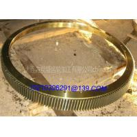 Wholesale Turntable Rotating Ring CNC Machining Gears Rolling Mill Fixed Gear Wheels from china suppliers