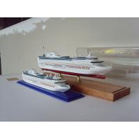 Wholesale Hand Painted Wooden Ship Models , Princess of the heyday Cruise Ship Model from china suppliers