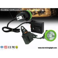 Wholesale 50000 Lux 11.2Ah Li ion Battery Mining Hard Hat Led Lights , IP68 Waterproof Hunting Light from china suppliers