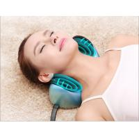 Wholesale Home and Car Head Neck Massaging Pillow with Heating , Bule Color from china suppliers