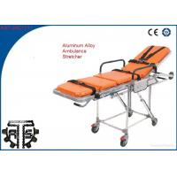 Wholesale Foldable First Aid Stretcher Stainless Steel For Patients Rescue from china suppliers