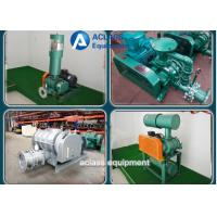 Wholesale Green Dresser Roots Rotary Lobe Blower For Electroplate Tank And Pneumativ Conveying from china suppliers