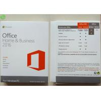 Wholesale Microsoft Office 2016 Home And Business PKC / Retail Version / OEM COA Sticker from china suppliers