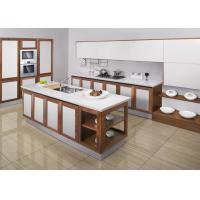 Wholesale Unassembled Modular White Modern Kitchen Cabinets Lacquer Door Waterproof from china suppliers
