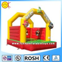 Wholesale Safe Customed Commercial Inflatable Bouncers 0.55mm PVC Tarpaulin from china suppliers