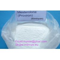 Wholesale 99% Mesterolone 1424-00-6 Anabolic Raw Steroid Powders Anti Estrogen Proviron from china suppliers
