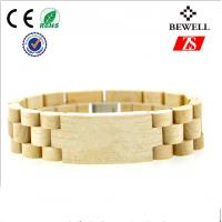 Wholesale Fashion Handmade Wood Accessories , Customized Wooden Bracelet For Lady from china suppliers
