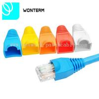 Wholesale PVC OD5.5-6.5MM Cover Boot Rj 45 Network Jack UL FCC Easy to use from china suppliers