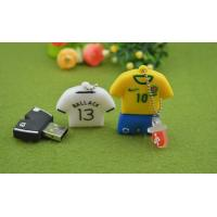 Wholesale Customized Football Shirt PVC USB Device Driver Bulk 4GB 8GB 16GB 32GB from china suppliers