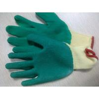 Buy cheap Latex coated Cotton Yarn Safety Working Gloves For Garbage Collection cutting resistant safety glove from wholesalers