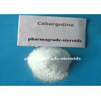 Wholesale Pharma Raw Materials Cabergoline Dostinex CAS 81409-90-7 C26H37N5O2 from china suppliers