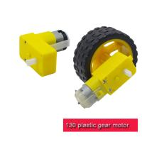 China Lightweight Plastic Gear Motor Different Reduction Ratio T130 DC Motor  For Kids DIY Toys on sale