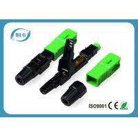 Lower Insertion Loss Fiber Optic Cable Connectors Reliable Environmental Performance