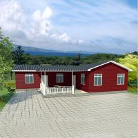 Quality 2 Bedroom Modular Homes for 50 years lifetime easy construction eco-friendly energy saving for sale