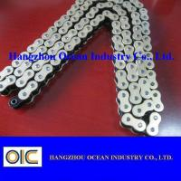 Quality 520-120L Motorcycle O Ring Chain Transmission Spare Parts In Black and Gloden for sale