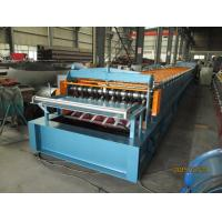 Wholesale Automatic Metal Deck Roll Forming Machine / Steel Deck Roll Former from china suppliers