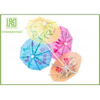 Wholesale Multi - Colored Decorative Food Toothpicks Umbrella Cocktail Sticks Beach Party Decorations from china suppliers