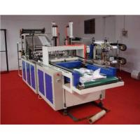Wholesale Cold Cutting T-shirt Bag Making Machine Double Deck Heat Sealing from china suppliers