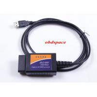 Wholesale OBD-II ELM327 USB Diagnostic Trouble Codes RS232 Elm Obd Interface ISO15765-4 / ISO14230-4 from china suppliers