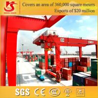 Wholesale 5-50/10ton Capacity Double Girder Rail Mounted Container Gantry Crane from china suppliers