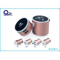 Wholesale Lighting Logo USB Universal Travel Charger With Multi Functional Conversion Socket from china suppliers