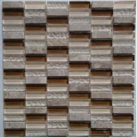 Wholesale Glass Mix Stone Mosaic NM-112143 from china suppliers