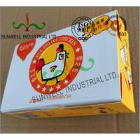 Wholesale Double Wall Cardboard Food Packaging Boxes , Disposable Cardboard Burger Boxes from china suppliers