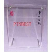 Wholesale 4x6 clear acrylic magnetic photo frames,fashion OEM acrylic frame,acrylic photo frame from china suppliers