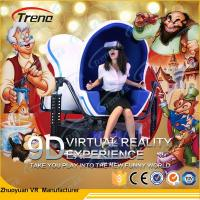 Wholesale Full Motion Virtual Reality 9D Cinema Simulator With High Resolution VR Glasses from china suppliers