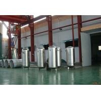 Wholesale Stainless steel pressure vessel air compressor tank  / air receiver  4.5m³ from china suppliers