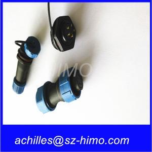 Wholesale M13 M17 push pull self-locking waterproof connector IP68 lemo compatible K series 0k 1k 2k 3k from china suppliers