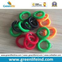 Wholesale Promotional Wholesale Plastic Wrist Coil Key Chain W/Split Ring from china suppliers