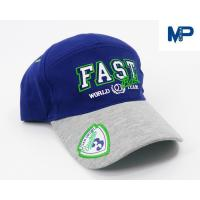 Wholesale Plain Embroidery Cotton Customize Baseball Hats 6 Panel With Mesh Back from china suppliers