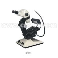 Wholesale 65x - 450x Zoom Ratio1/7  Binocular Jewelry Microscope optical-fiber illumination A24.0402 from china suppliers