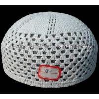Wholesale Muslim pure cotton crochet cap from china suppliers