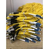 Wholesale 3.0mm Yellow Singlemode Optical Network Components  FC - LC Fiber Optic Patch Cord from china suppliers
