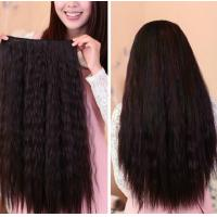 Wholesale Queenlike Tangle Free 1B remy clip in hair extension 20 Clips 8 Pieces from china suppliers