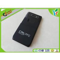 Quality 1C Printed Logo Silicone Card Holder Eco-friendly Durable Black for sale