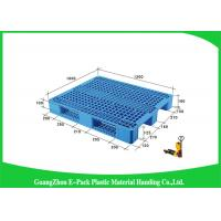 Wholesale Higah Load Capacity Industrial Plastic Pallets , Stackable Recycled Plastic Pallets from china suppliers