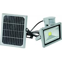 Buy cheap top manufacturer PIR solar 10W to 50W led outdoor light 3 years warranty from wholesalers