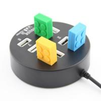 Wholesale Round USB 2.0 8ports hub driver high speed usb hub Promotional 8ports 2.0 USB HUB HUB from china suppliers