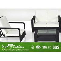 Wholesale 25 * 15mm Steel Tube  Patio Outdoor Furniture Restaurant Sofa Set OEM Available from china suppliers