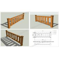 Wholesale WPC outdoor rail OLDA-9022 0.84m*2.62m from china suppliers