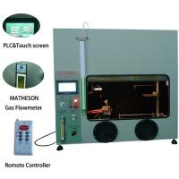 Wholesale 50W 500W Mitsubishi PLC Plastic Vertical Horizontal Flammability Tester UL94 Fire Chamber from china suppliers