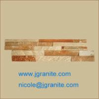 Buy cheap Rusty Yellow  Slate Stone from wholesalers